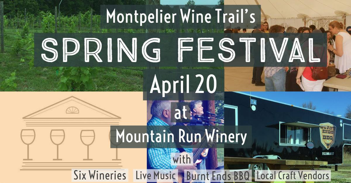 Mountain-Run-Winery-Montpelier-Wine-Trail-Spring-Festival-South-Canal-Street-Burnt-Ends-BBQ-Subtle-Frankenstein-Live-Music-Wine